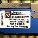 Kingston 4Gb Kit (4x1Gb) ddr2 PC2-6400 радиатор под intel и amd, фото 2