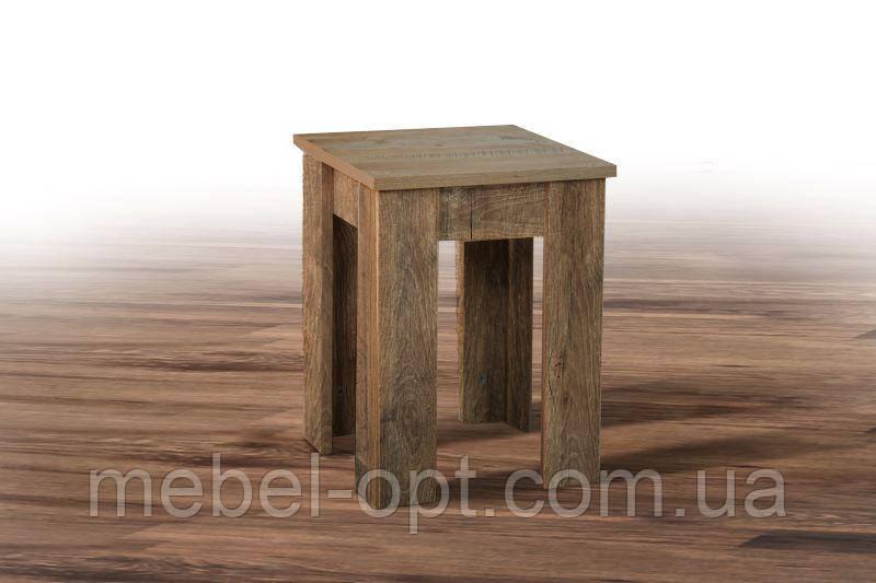 Табурет деревянный Андервуд, цвет дуб Фрегат Заказ от 4 штук
