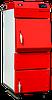 Твердотопливные котлы Heiztechnik HT Plus универсальные для сжигания угля,угольной пыли, древесины