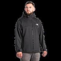 Мужская флисовая куртка The North Face черного цвета