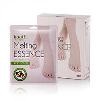 Маска-носочки для ног Petitfee Koelf Melting Essence