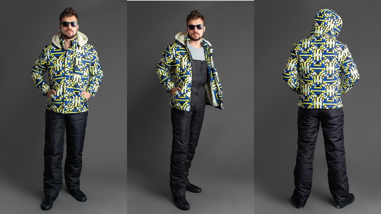 Мужской лыжный костюм опк1109
