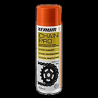 CHAIN PRO · Синтетична аерозольна змазка для ланцюгів, посилена тефлоново-керамічною технологією Cerflon®