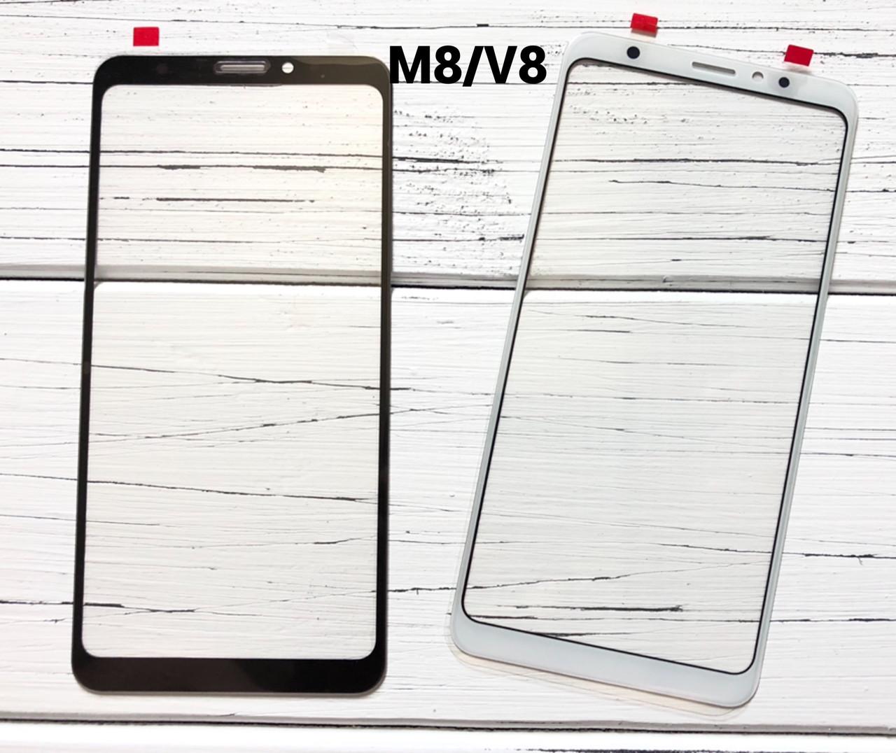 Стекло дисплея для Meizu V8 белое (оригинал Китай)
