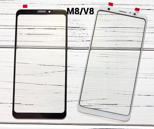 Стекло дисплея для Meizu V8 белое (оригинал Китай), фото 2