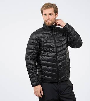 Пуховая мужская черная куртка Outventure