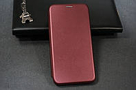 Чехол книжка для Xiaomi Redmi 7A Ксиоми Сяоми цвет Марсала