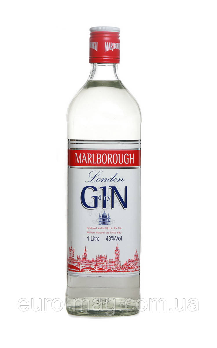 Marlborough Gin 37.5 1L  Мальборо Джин
