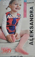 """Гольфы капроновые """"Aleksandra-Ninka"""" оптом 23-27 размер, фото 1"""