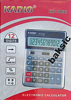 Калькулятор настольный Kadio 018B