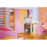 Набор мебели для детской Эколь с кроватью (БМФ) МДФ , фото 3