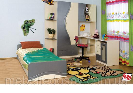 Набор мебели для детской Эколь с кроватью (БМФ) МДФ