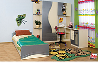 Набор мебели для детской Эколь без кровати (БМФ) МДФ , фото 1