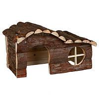 Trixie Hanna House домик из натурального дерева для морской свинки 31х19х19см