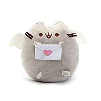 Мягкая игрушка, Пушин кэт, Pusheen cat с письмом, Серый (103-gv)
