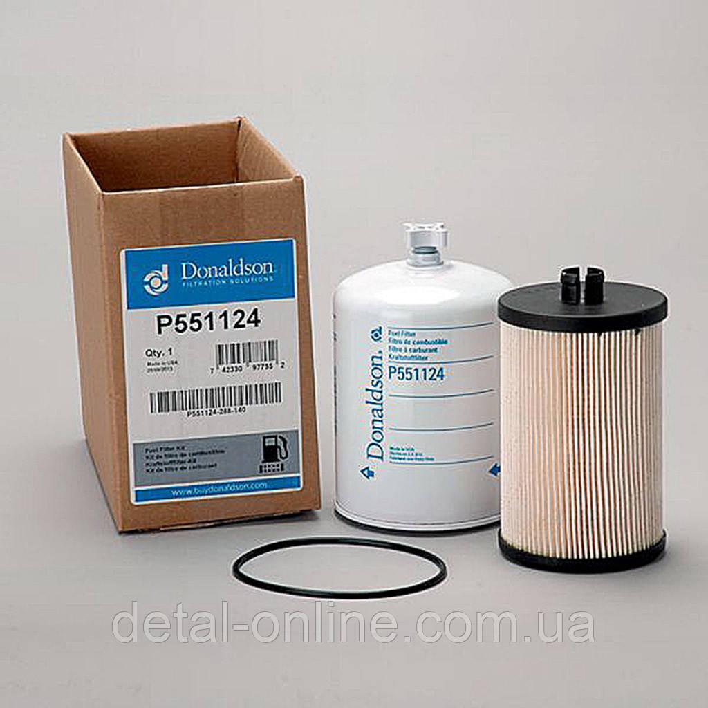Купить P551124 фильтр топливный к-кт (2шт) Donaldson/USA (RE525523+RE520906) JD8230/8430/8530/9760/9780, Donaldson Company
