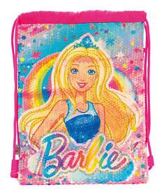 "Сумка-мешок YES  детская DB-11 ""Barbie Sequins"""