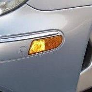 Левый поворотник повторитель указатель поворота в бампер USA Mercedes S W220 W 220  новый оригинал