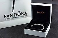 Браслет Pandora Пандора Оригинал с сертификатом серебро 925 проба классическая основа шарм