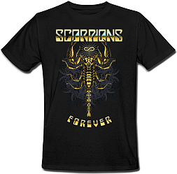 Футболка Scorpions - Forever (чёрная)