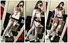Велюровый костюм кофта бомпер + штаны велюр муар + кружево