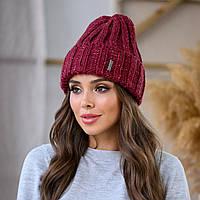 "Женская шапка LaVisio ""Серена"" 458-029 вишня"