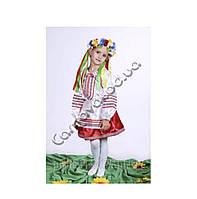 """Дитячий національний карнавальний костюм """"Україночка"""" (Козачка)"""