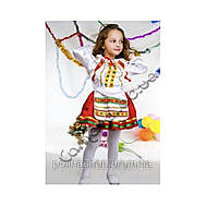 """Дитячий національний карнавальний костюм """"Україночка"""" кольорова (Козачка)"""