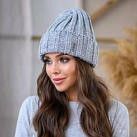 """Женская шапка LaVisio """"Серена"""" 458-054 серый"""