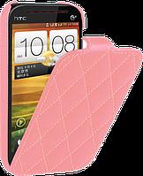 Чехол для HTC Desire SV T326e - Vetti Craft flip Diamond Series
