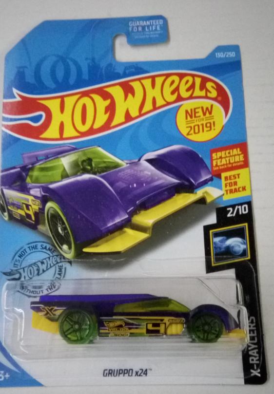 Машинка Hot Wheels 2019 Gruppo x24