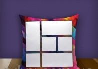"""Печать на подушке """"Collage"""""""