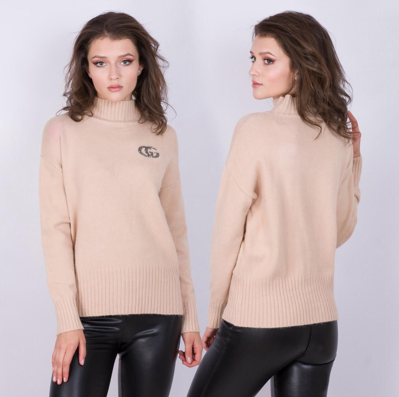 Мягкий ворсистый свитер 44-48 (в расцветках)