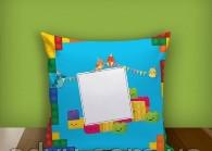 """Печать на подушке """"LEGO"""""""