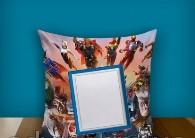 """Печать на подушке """"Superheroes"""""""