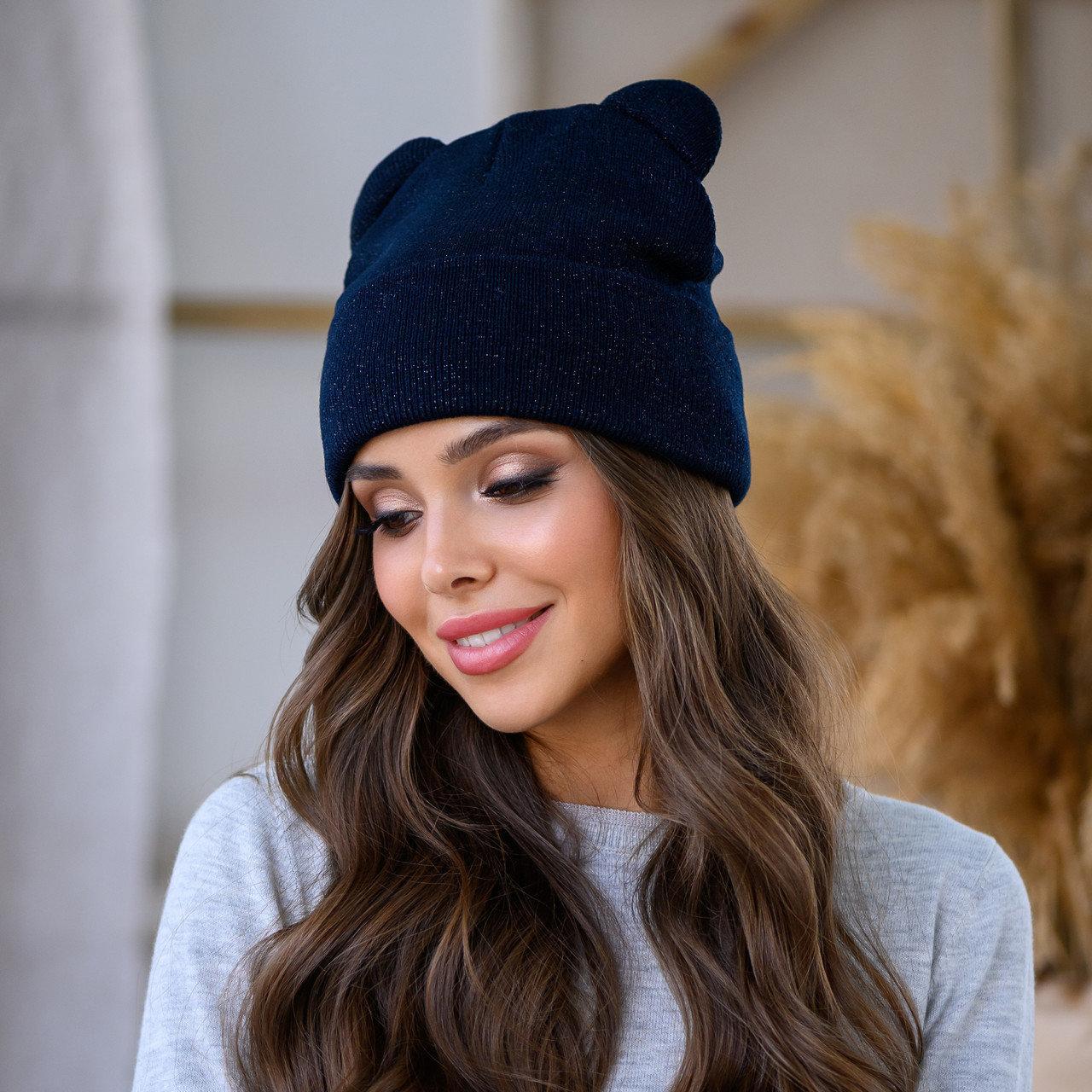 "Женская шапка LaVisio ""Катрина"" 654-003 синий"