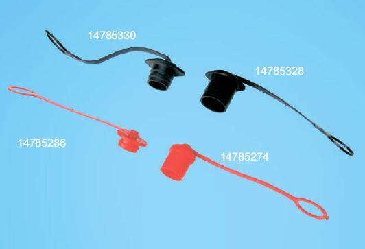 Накладка на QR соединение PP для 147 85 250 HYVA