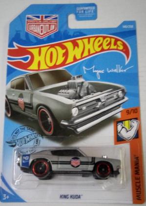 Машинка Hot Wheels 2019 King Kuda