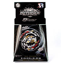 Волчок Бейблэйд Гранд Эйс Драгон Бейблейд Beyblade Grand Ace Dragon Black с пусковым (GT-00-133), фото 3