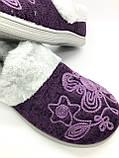 Тапочки бурки женские на меху DaGo style, фото 7