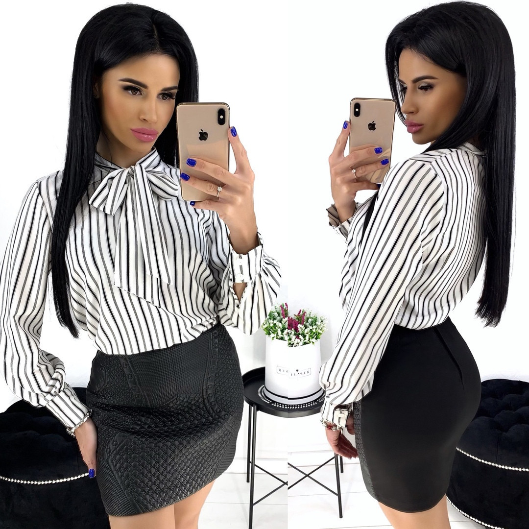 Жіноча блуза в смужку 4 кольори