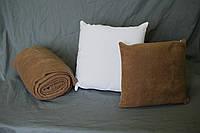 Печать на подушке-плед большого размера