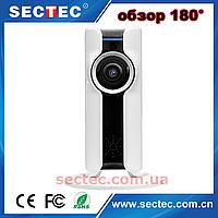 Панорамная WiFi IP камера обзор 180° (рыбий глаз) SECTEC HIP307W