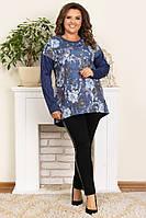 Модная женская ангоровая туника,размеры:50,52,54,56., фото 1