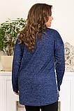 Модная женская ангоровая туника,размеры:50,52,54,56., фото 3
