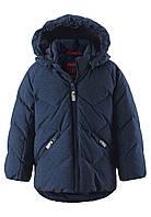 Зимний пуховик для мальчика Reima Ilta 511289-6980. Размеры 80 - 110.