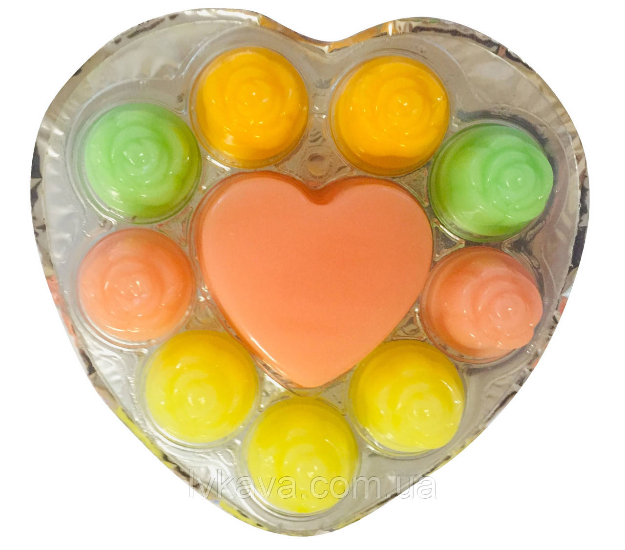 Фруктовое желе Heart Jelly L.O.L. surprise! , 70 гр