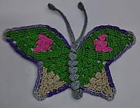 Бабочки крючком большие