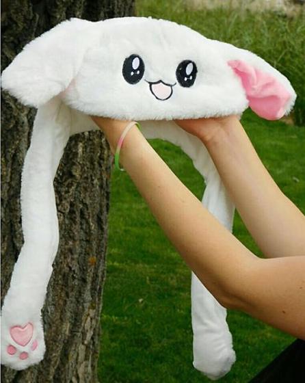 Плюшевая шапка