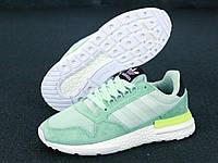 """Кроссовки женские Adidas ZX 500 Mint """"Мятные"""" адидас размер 36-40, фото 1"""
